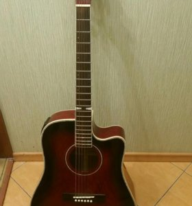 Гитара электроакустическая Ashtone