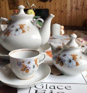 Чайный сервиз из 15 предметов