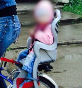 Велокресло для ребёнка