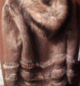 Шуба бобровая