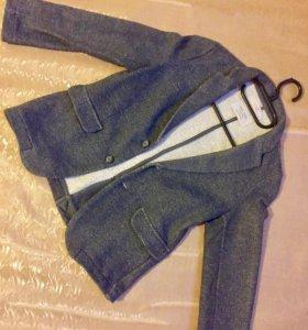 Пиджаки для мальчика 7-8 лет