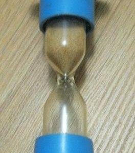 песочные часы 5 минут времён СССР
