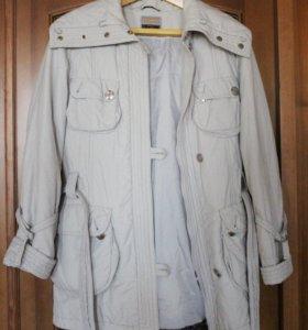 Куртка-пуховик, натуральный мех