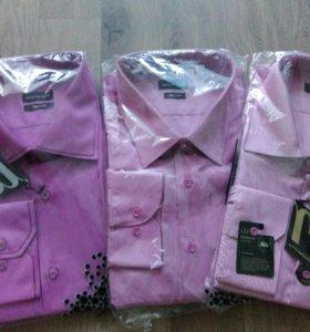 Фирменные сорочки новые
