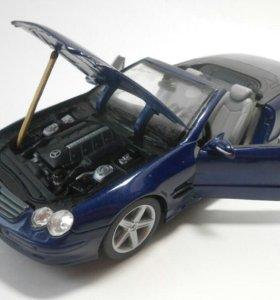 Машинка Mercedes-Benz SL500 1/24