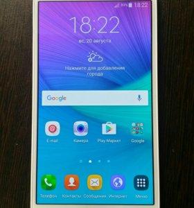 Samsung Galaxy Note 4 32Gb белый
