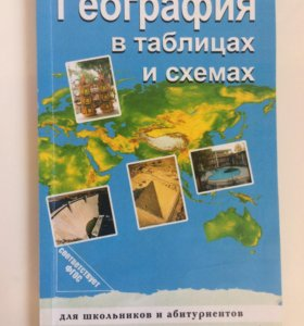 Книжка по географии для учащихся и обучающихся