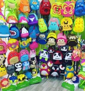 Детские 3D рюкзачки и сумочки