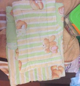 Подушка,одеяло.Даром