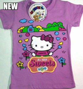 Новые детские футболочки от 1 до 4 лет