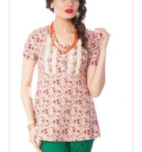 Блуза Wisell новая 46 размер 100% лён.