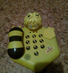 Игрушечный телефон пчелка