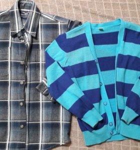 Рубашка и джемпер для мальчика