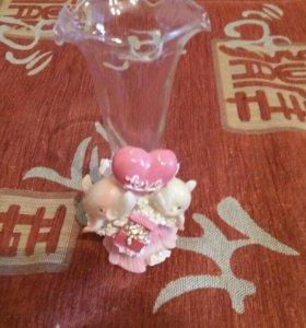 Сувенир вазочка