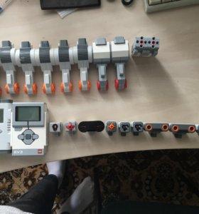 Моторы, блоки, датчики Lego Mindstorms ntx и ev3