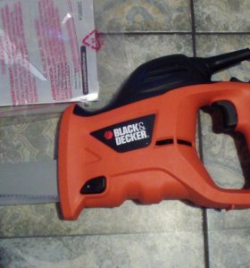сабельная пила black decker ks880ec