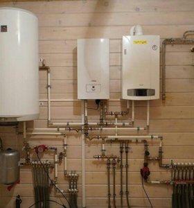 Монтаж электро-отопления