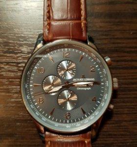 Продам часы Jacques Lemans 1-1844D