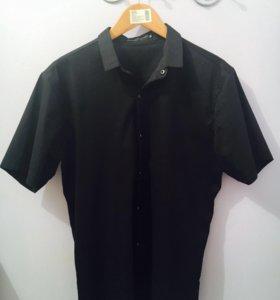 Мужская рубашка - черная