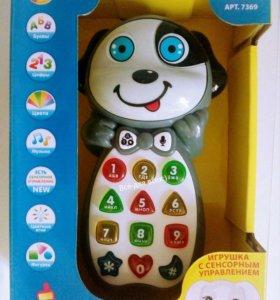 Умный телефон собачка