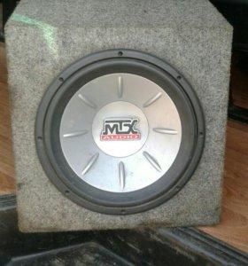 сабвуфер MTX T612A
