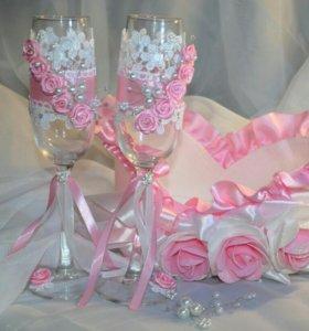 Свадьба. Свадебные бокалы