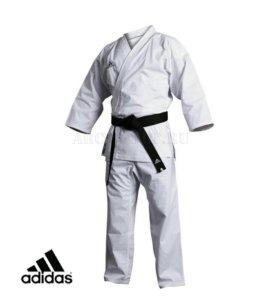 Кимоно для карате Kumite Fighter wkf белое+пояс