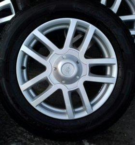 Колеса R 18 на УАЗ состояние нового!