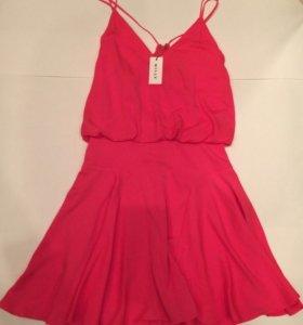 Новое шелковое платье американского бренда milly s