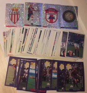 Коллекционные наклейки и карточки футбола
