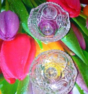 вазочки хрусталь