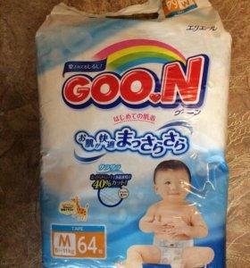 Подгузники Goon М(6-11кг)
