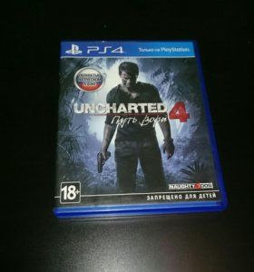 Игры для ps 4 uncharted 4: a thief's end