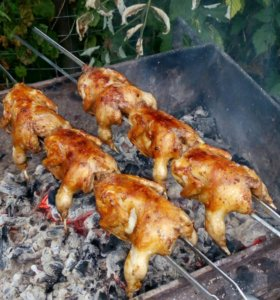 Домашнее мясо перепелов