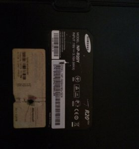 Ноутбук Samsung r20
