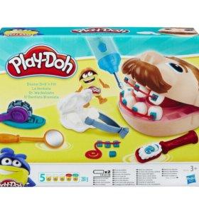 Play-Doh Зубастик