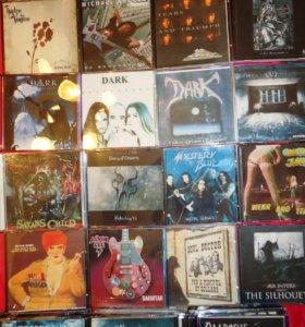 КОЛЛЕКЦИЯ музыкальных компакт-дисков (audio CD)
