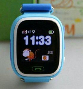 Часы детям с gps часы-телефон