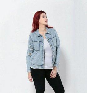 Куртка джинсовая, новая