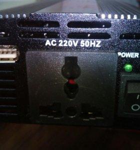 Преобразователь напряжения с 12v до 220v 1000w