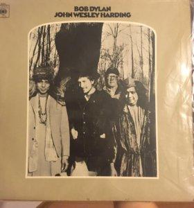 Оригинальная пластинка Bob Dylan John Wesley Hardi