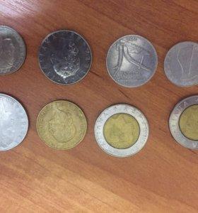 Монеты, Италия