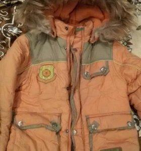 Зимний костюм-куртка и комбинезон