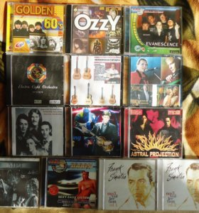 Музыкальные MP3-сборники (наши и буржуинские):