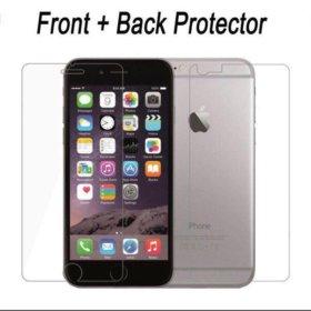Защитные стёкла двойные на айфон 7