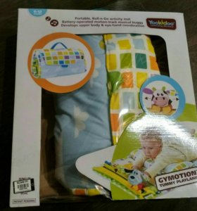 Музыкально-интерактивный детский коврик