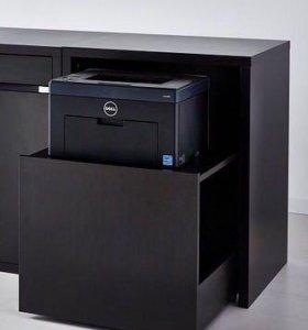 Компьютерный столик с тумбой для принтера