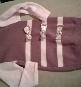 Дет. Платье вязаное