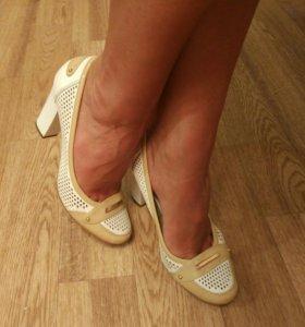 Кожаные туфли, 38 р-р