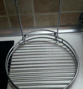 Полка хром для кухни